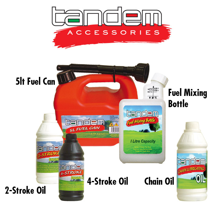 Accessories: Fuel and Oil